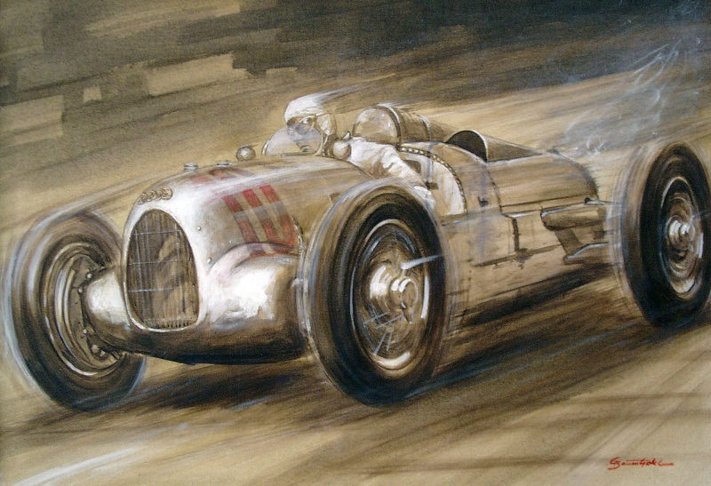 Auto Union Typ A, Hans Stuck, Grand Prix Monza 1934