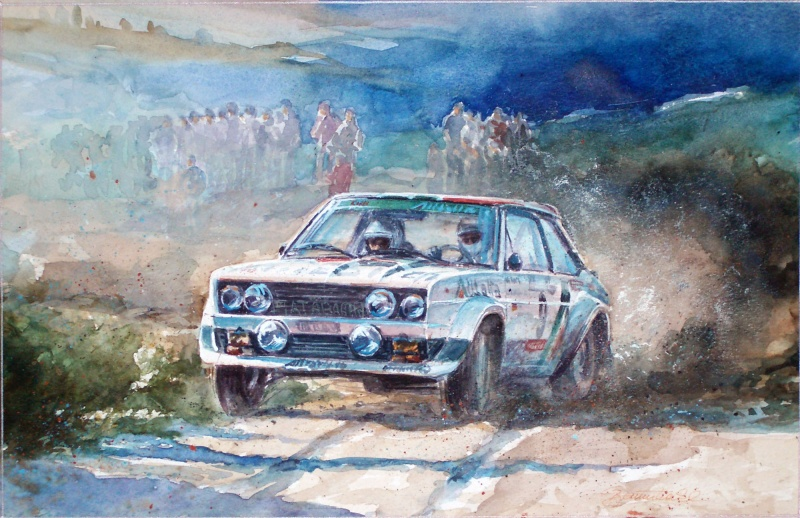 Fiat Abarth 131 rally ′Alitalia′ #9 1978