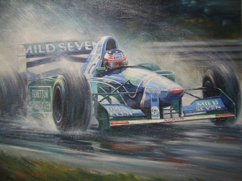 Michael Schumacher Benetton B194 Ford, Spa 1994